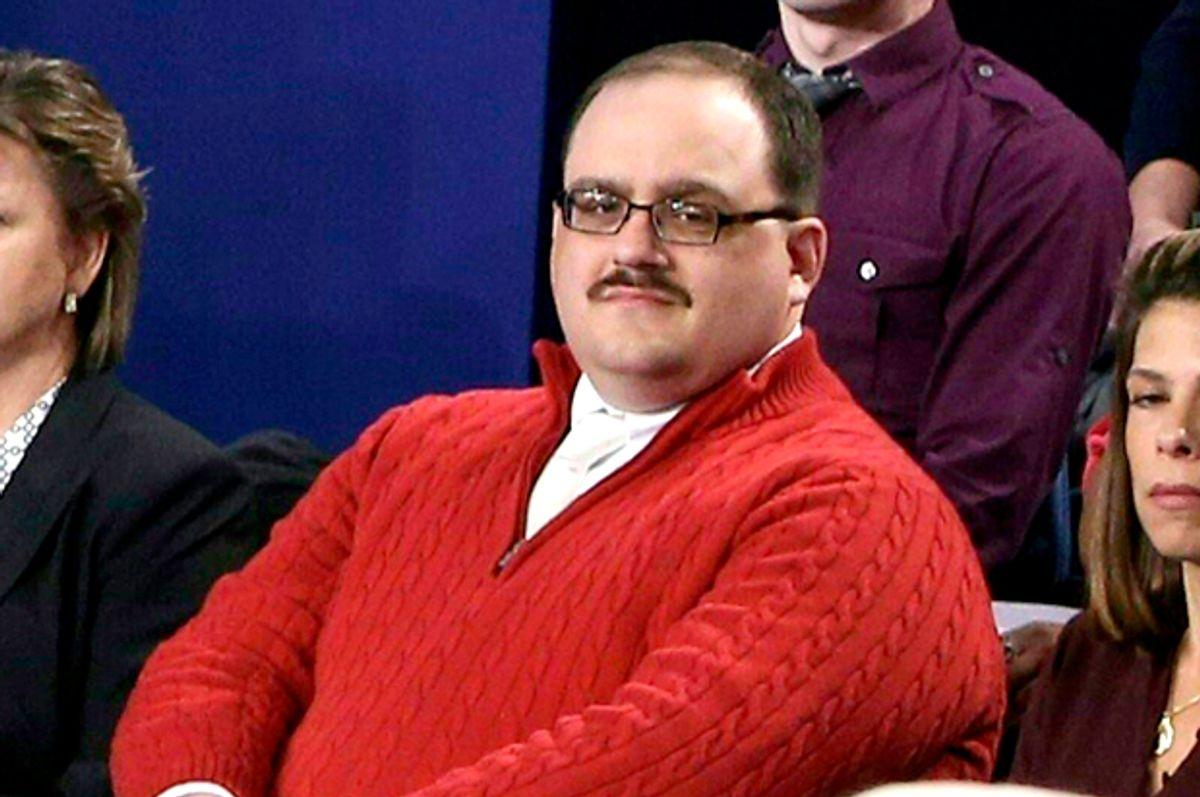 Kenneth Bone in the second presidential debate   (Getty/Tasos Katopodis)