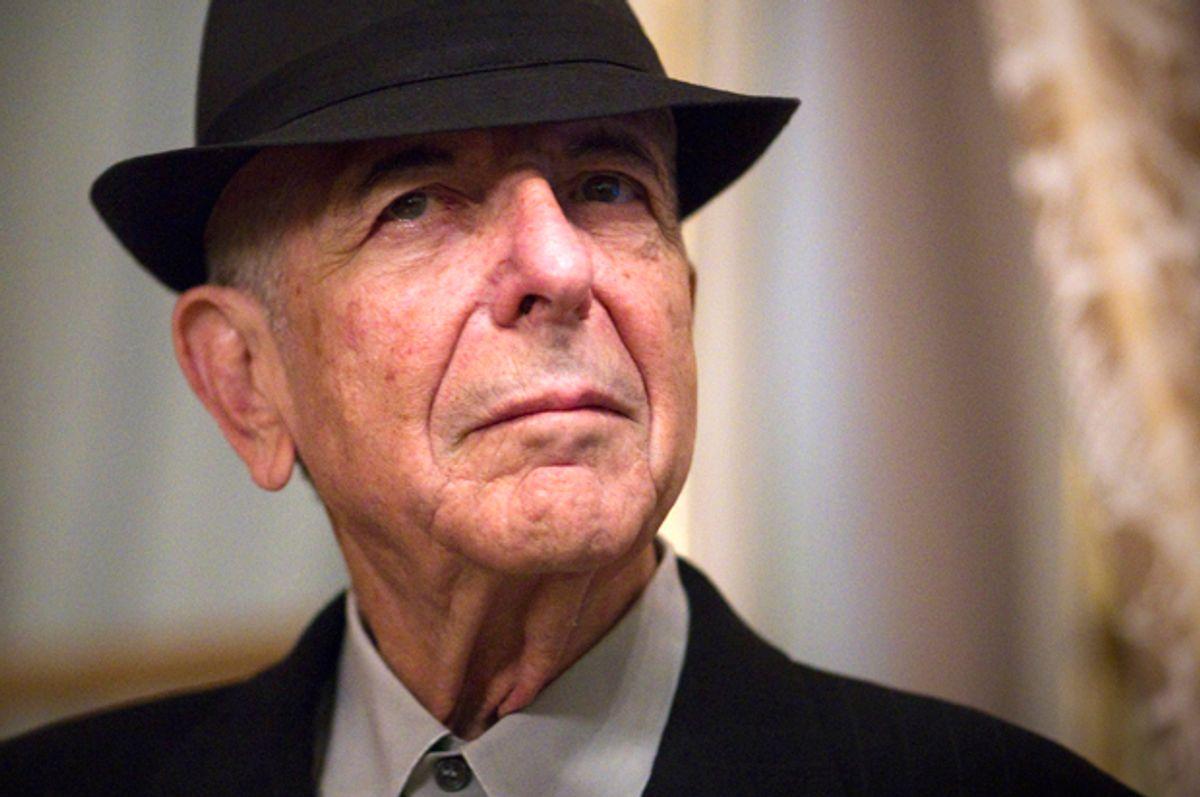 Leonard Cohen   (Getty/Joel Saget)