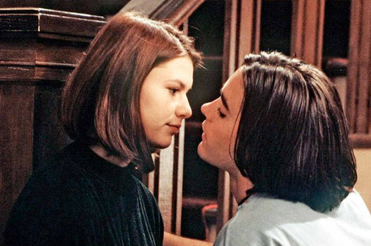 """Claire Danes and Jared Leto in """"My So-Called Life""""   (ABC)"""