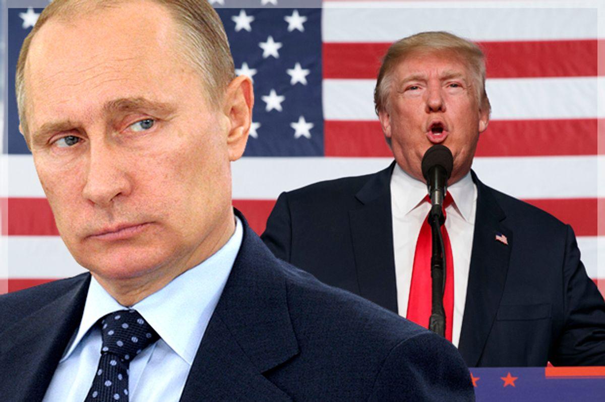 Vladimir Putin; Donald Trump   (Reuters/Alexei Druzhinin/AP/Evan Vucci/Photo montage by Salon)