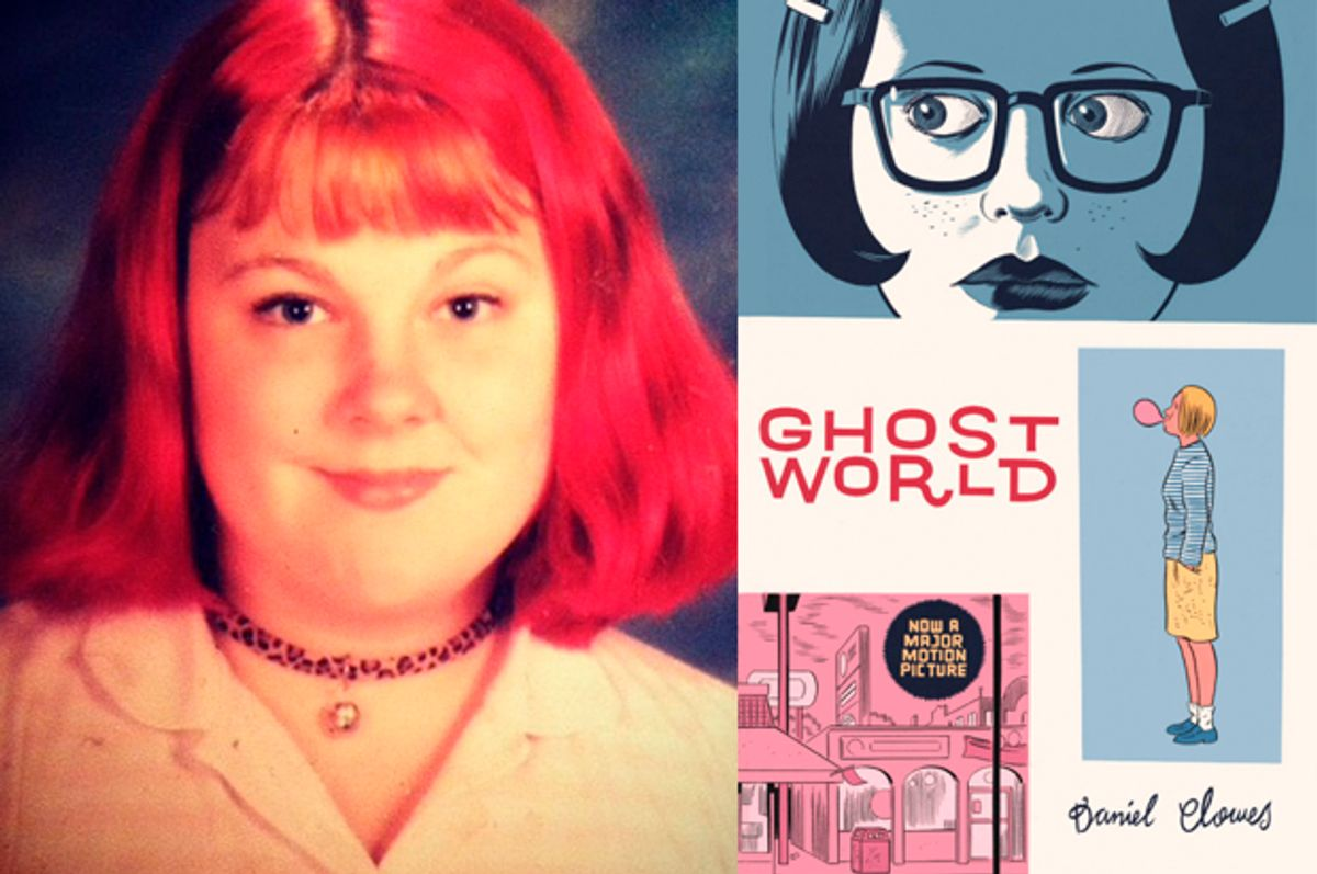 A photo of the author as a teen (Fantagraphics)