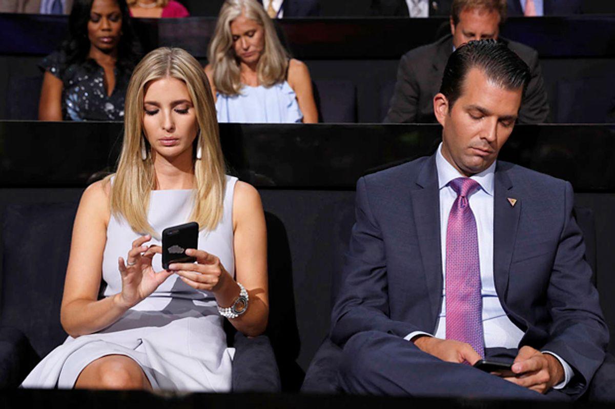 Ivanka Trump and Donald Trump Jr.   (AP/Carolyn Kaster)