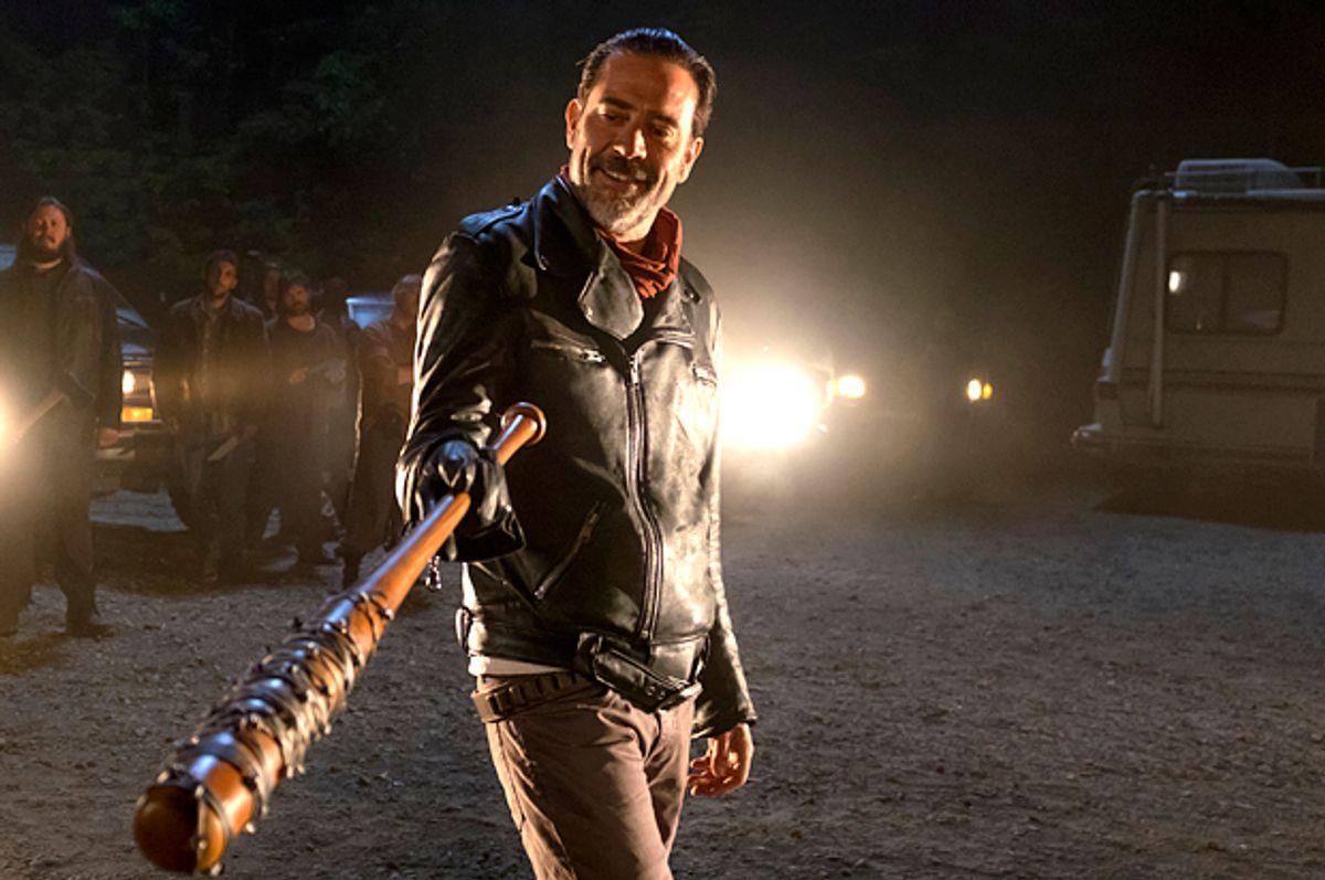 """Jeffrey Dean Morgan as Negan on """"The Walking Dead""""   (AMC/Gene Page)"""