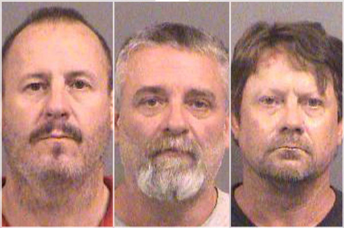 Curtis Allen; Gavin Wright; Patrick Eugene Stein   (AP/Sedgwick County Sheriff's Office)