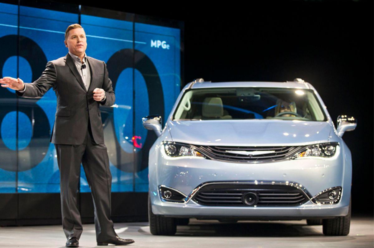 Chrysler Pacifica Hybrid   (AP/Tony Ding)