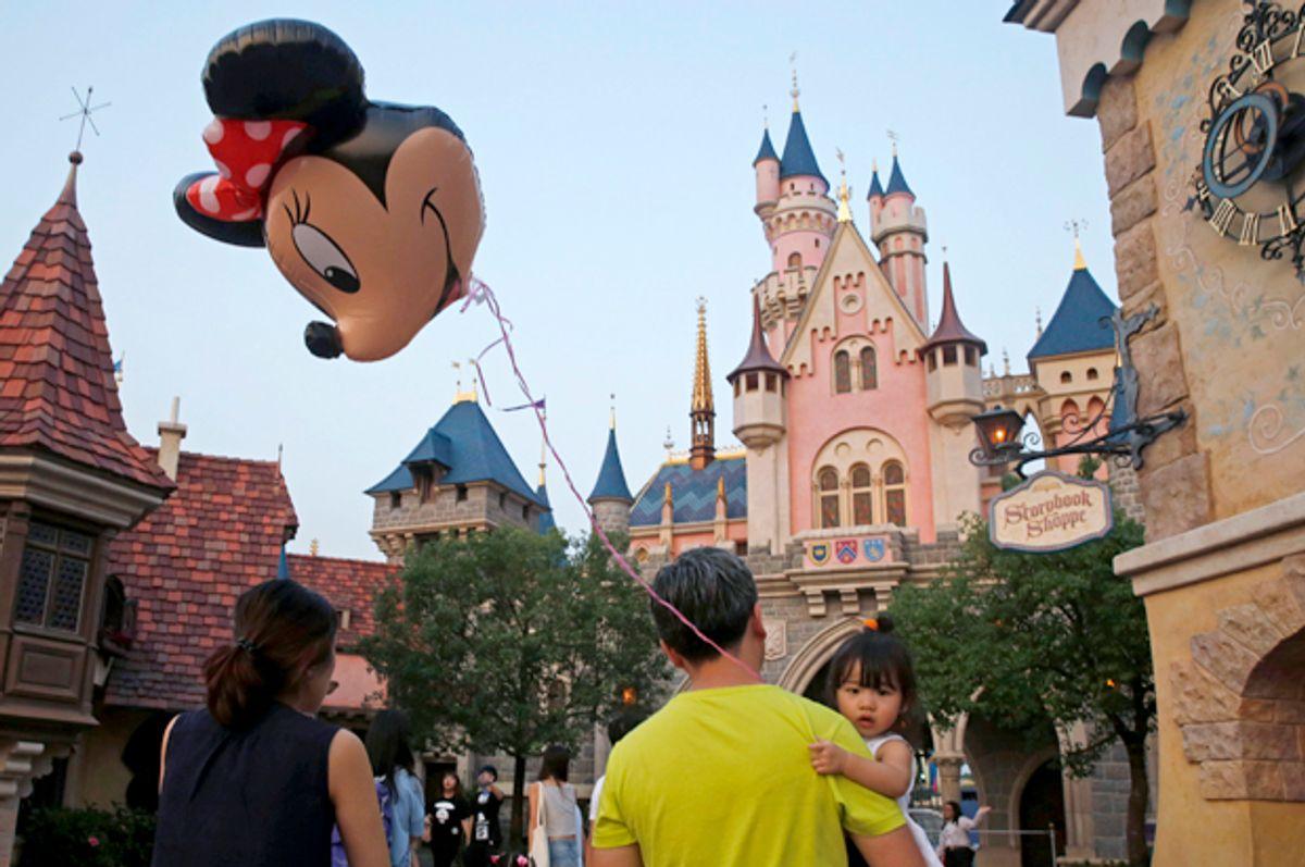 Hong Kong Disneyland, Sept. 11, 2015.   (AP/Kin Cheung)
