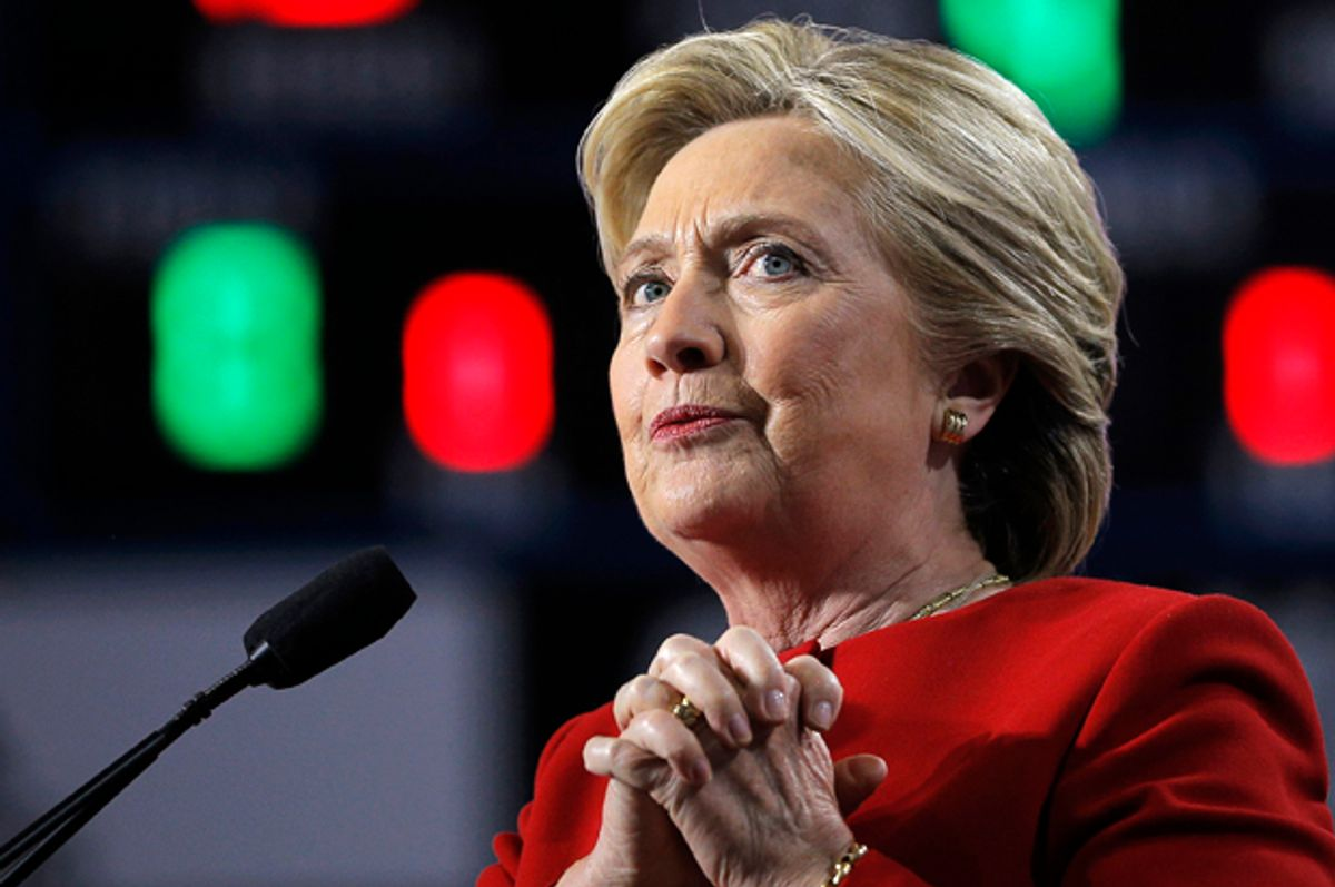 Hillary Clinton   (Reuters/Brian Snyder)