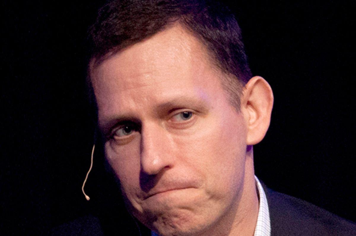Peter Thiel   (AP/Ben Margot)