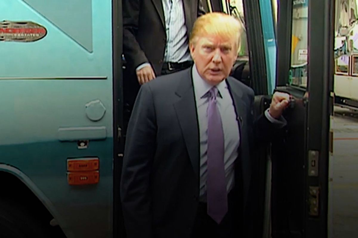 Still from the 2005 video obtained by the Washington Post