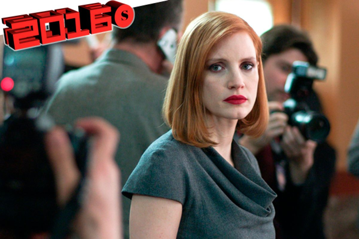 """Jessica Chastain in """"Miss Sloane""""   (EuropaCorp)"""