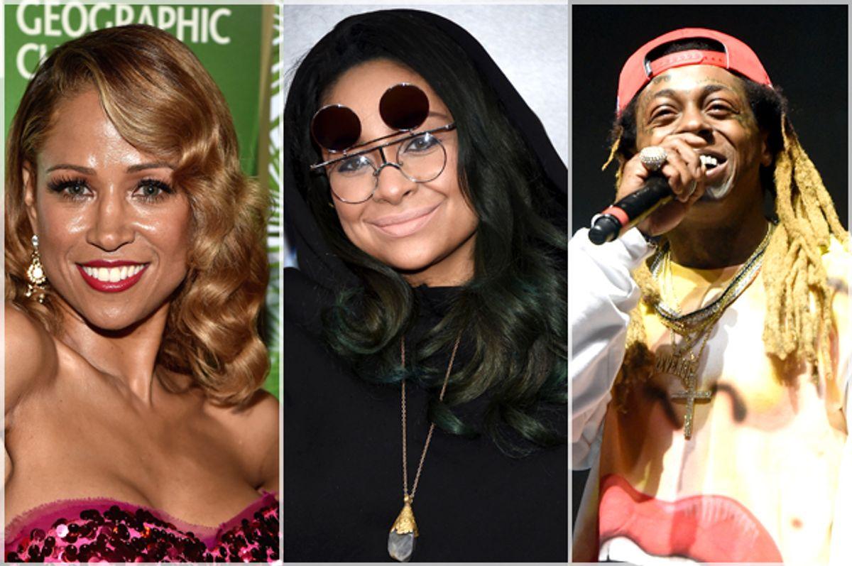 Stacey Dash; Raven Symone; Lil Wayne   (Getty/Alberto E. Rodriguez/Dimitrios Kambouris/Kevin Winter)