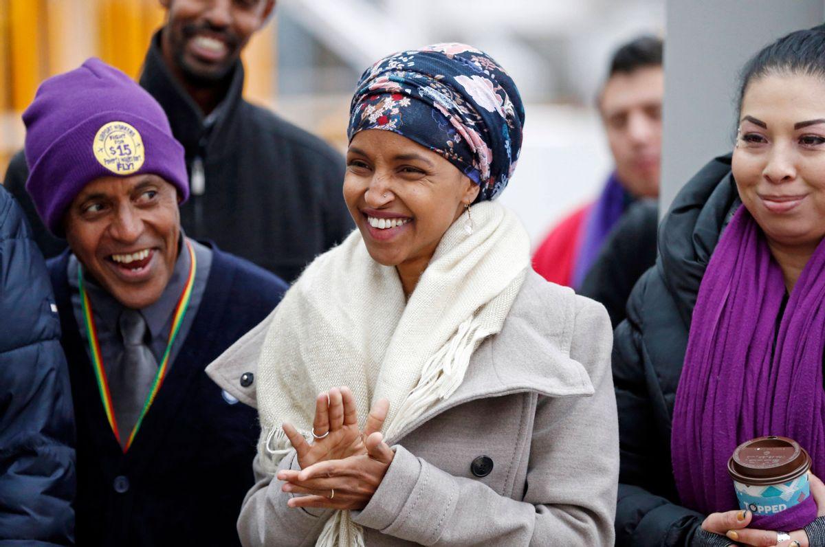 Ilhan Omar   (AP/Jim Mone)