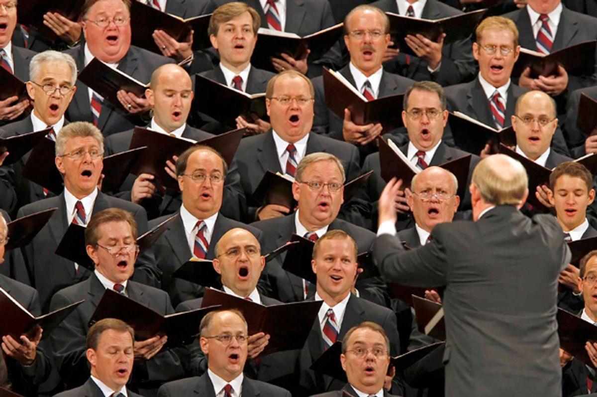 The Mormon Tabernacle Choir   (Getty/George Frey)