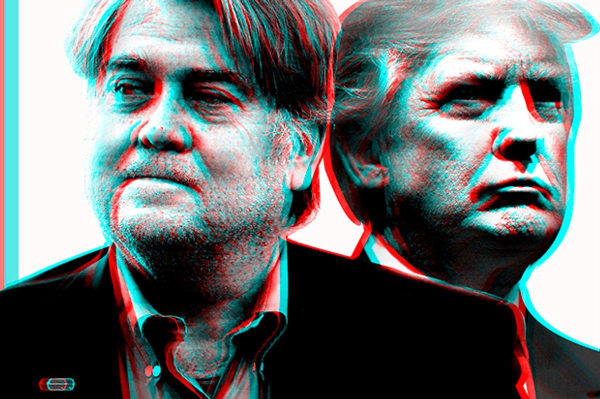 Steve Bannon; Donald Trump   (AP/Gerald Herbert/GettyDrew Angerer/Salon)