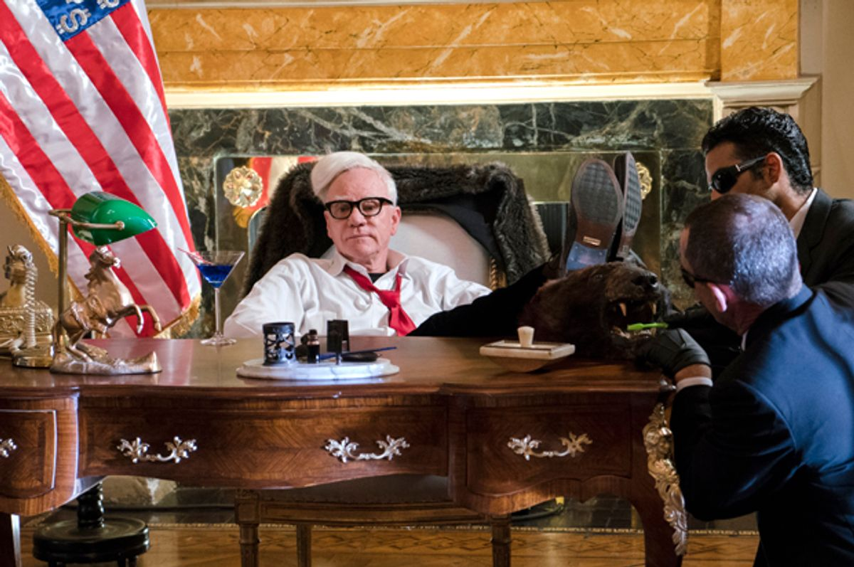Malcolm McDowell (Michael Moriatis)