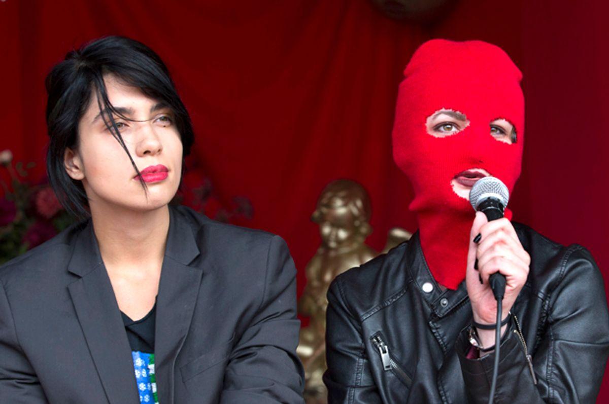 Pussy Riot   (Getty/Vincent Jannink)