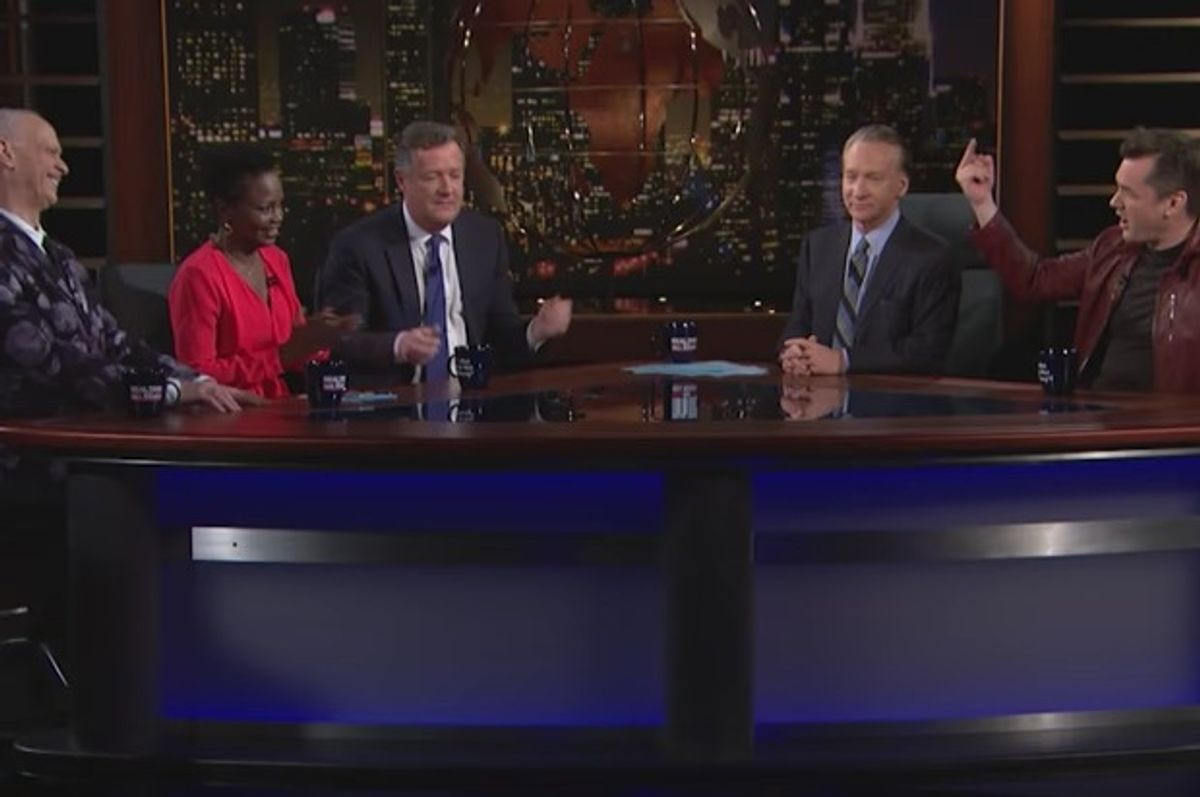 Bill Maher and guests argue about Trump policies on 2.10.17