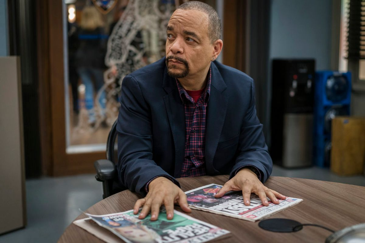 """LAW & ORDER: SPECIAL VICTIMS UNIT -- """"Assaulting Reality"""" Episode 1721 -- Pictured: Ice-T as Detective Odafin """"Fin"""" Tutuola (NBC/Michael Parmelee)"""
