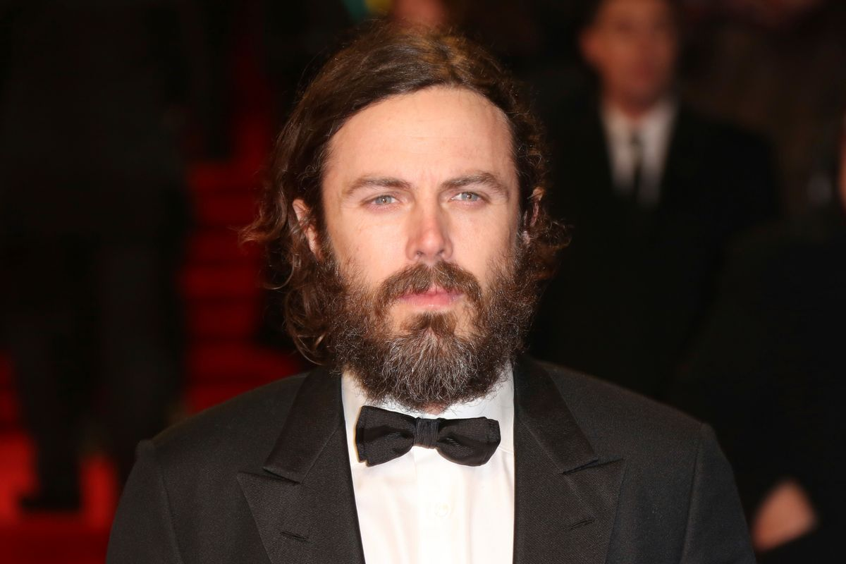 Actor Casey Affleck poses for photographers upon arrival at the British Academy Film Awards in London, Sunday, Feb. 12, 2017. (Photo by Joel Ryan/Invision/AP) (Joel Ryan/Invision/AP)