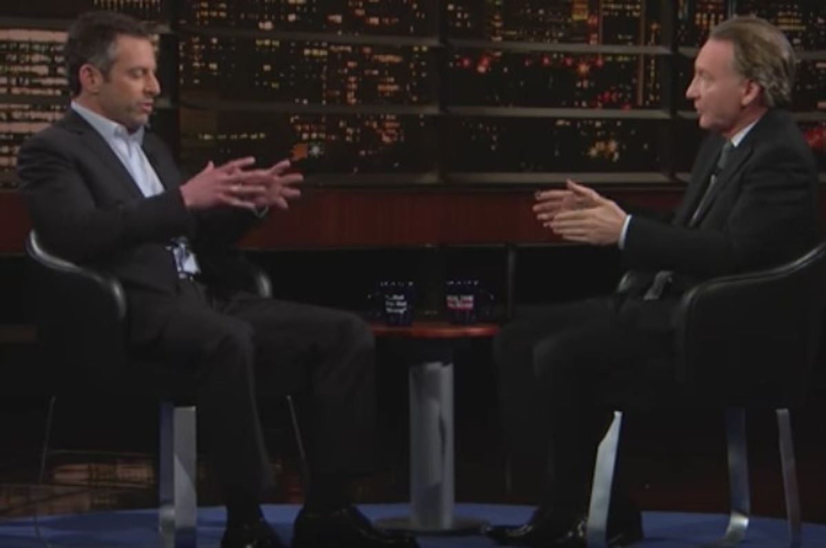 Author/writer Sam Harris sits down with Bill Maher to discuss Trump's second week in office.