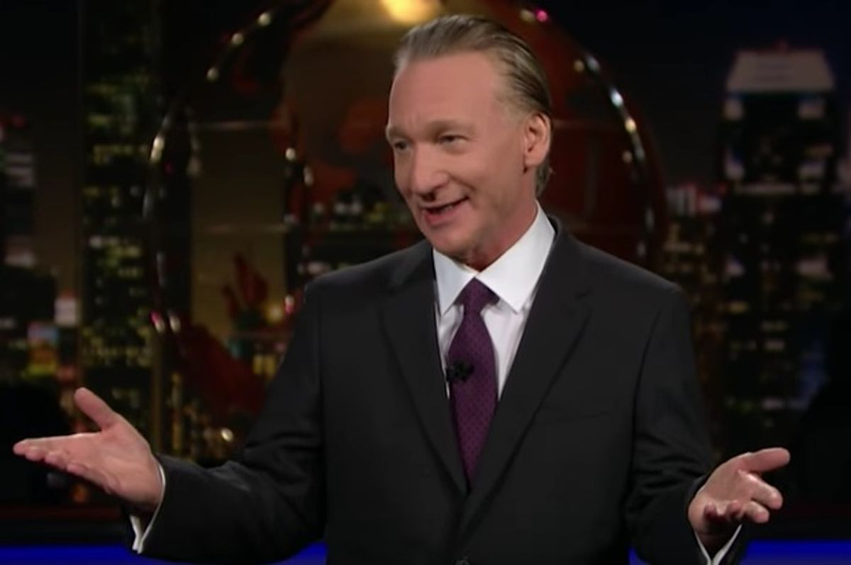 Bill Maher calls President's Weekend a time to reflect, 2.17.17