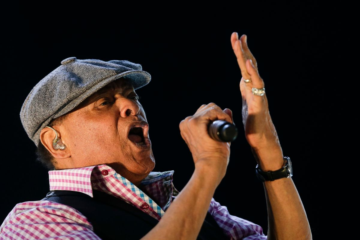 FILE - In this Sept. 27, 2015, file photo, Al Jarreau performs at the Rock in Rio music festival in Rio de Janeiro, Brazil. Jarreau died in a Los Angeles hospital Sunday, Feb. 12, 2017, according to his official Twitter account and website. (AP Photo/Felipe Dana, File) (AP)