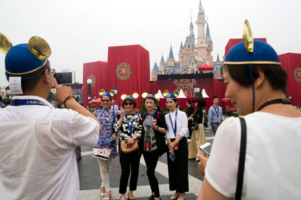 The Disney Resort in Shanghai, China.   (AP/Ng Han Guan)