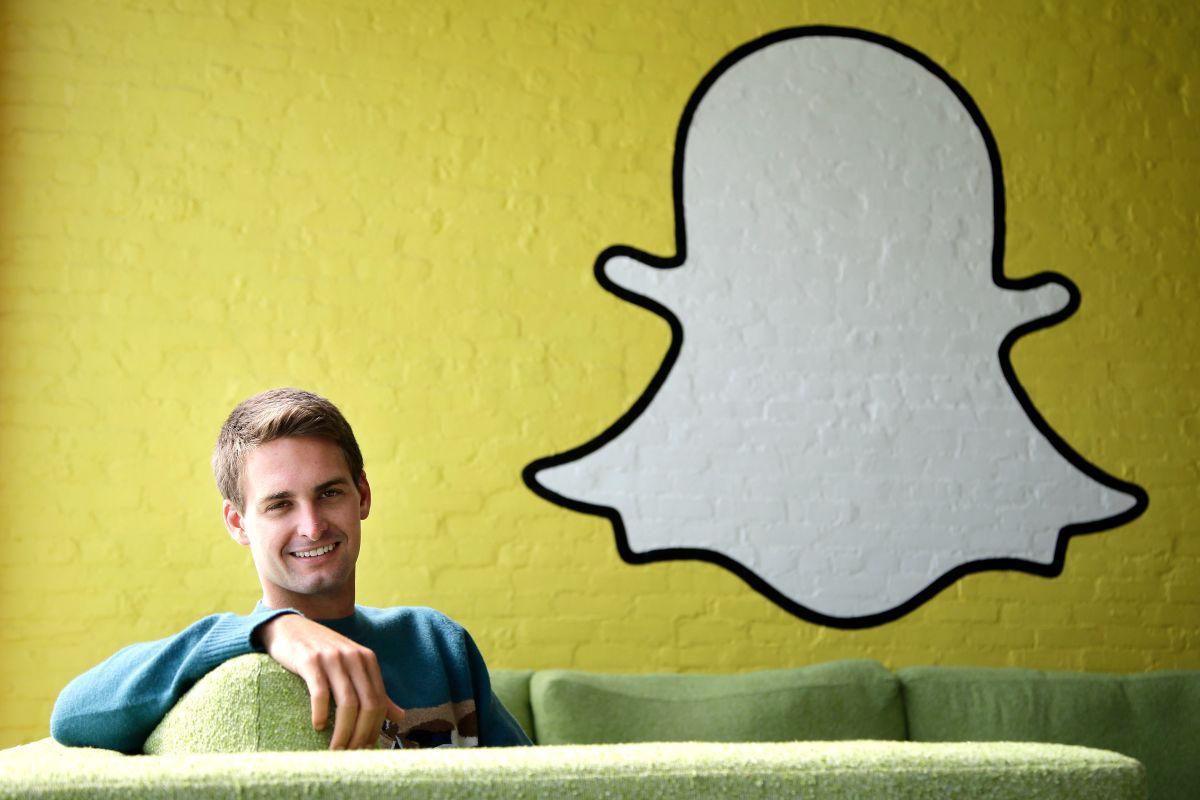 Snapchat CEO Evan Spiegel (AP)