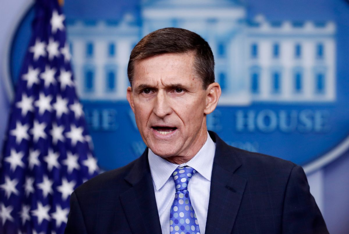 National Security Adviser Michael Flynn resigned Monday night. (AP)