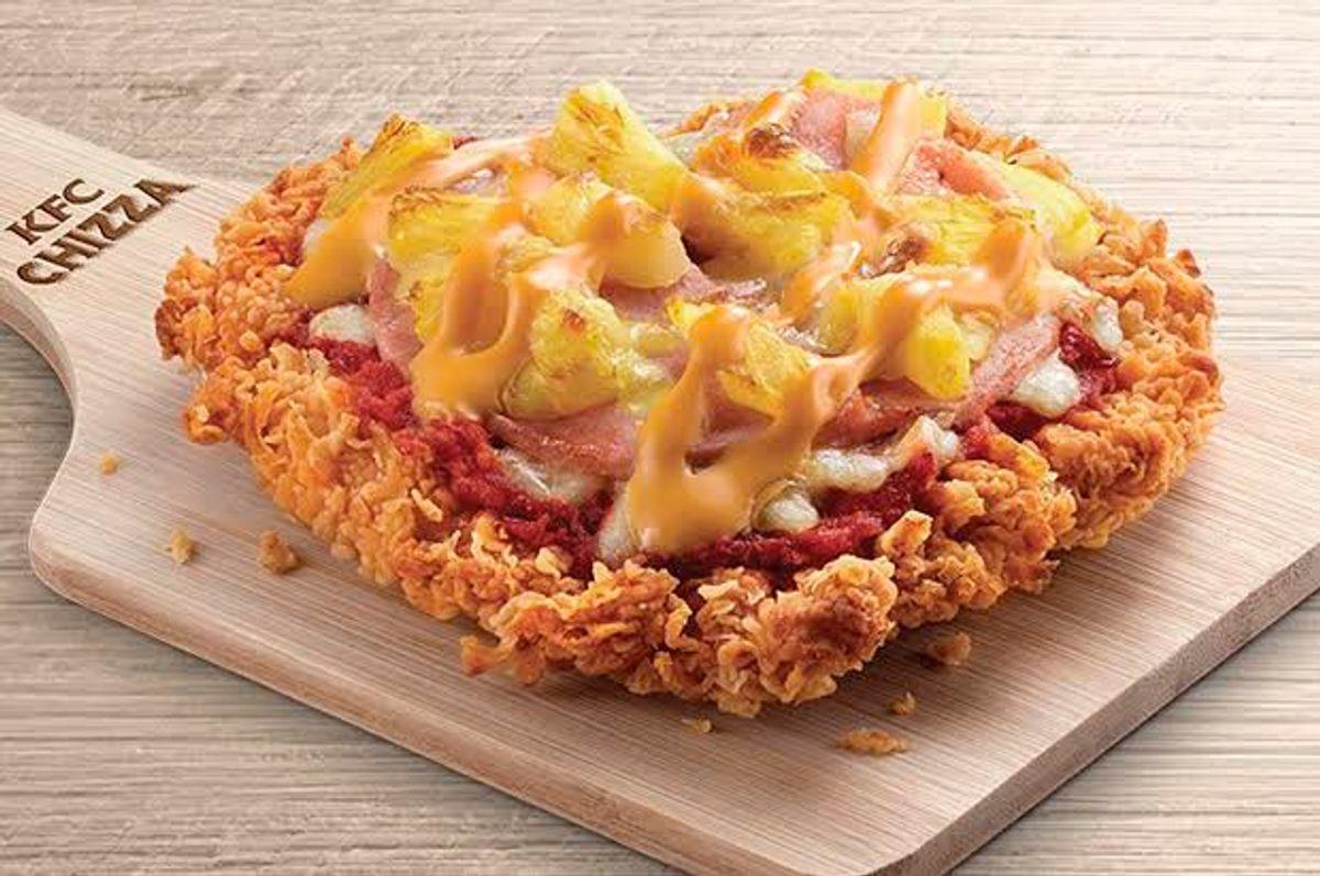 KFC's Chizza (KFC.com)