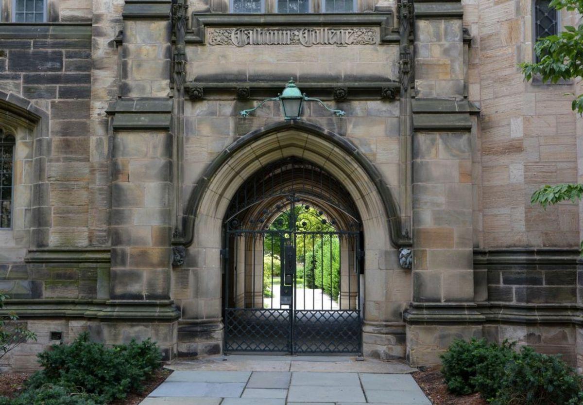 A view of Calhoun College at Yale University, New Haven, Connecticut (Michael Marsland/Yale University)