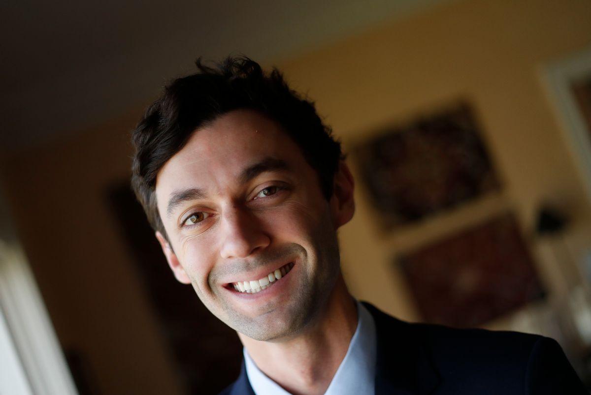 Democratic candidate for Georgia's 6th congressional district Jon Ossoff (AP Photo/John Bazemore)