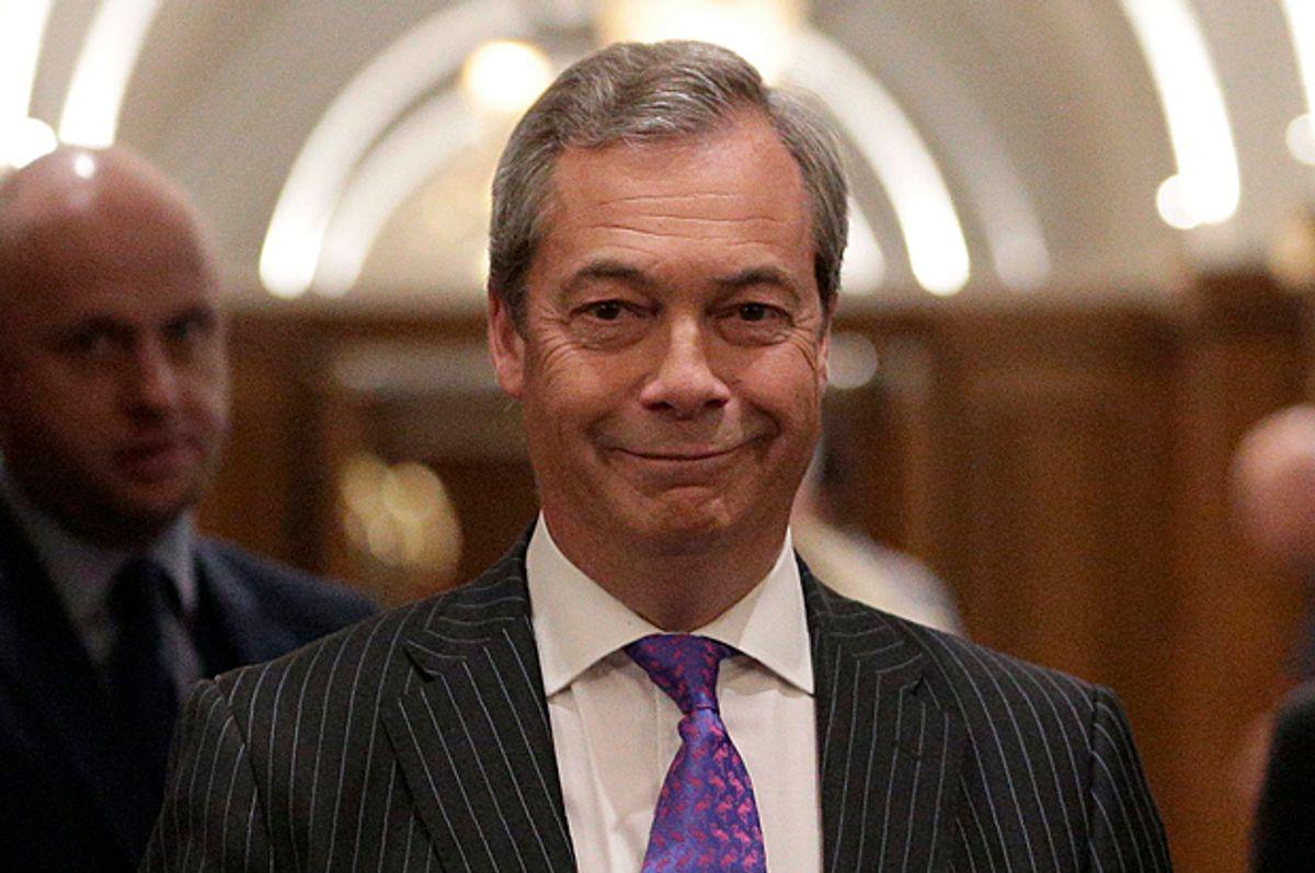 Nigel Farage   (Getty/Daniel Leal-Olivas)