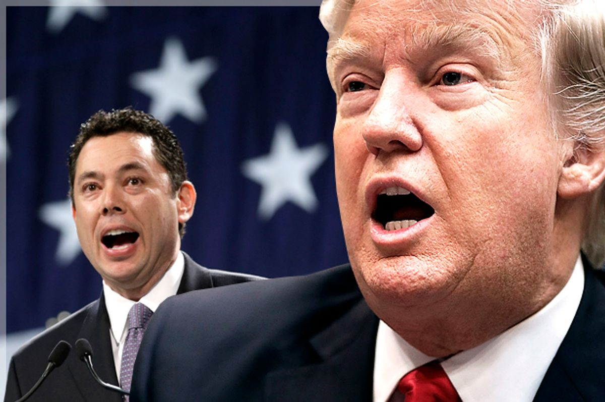 Jason Chaffetz; Donald Trump   (Getty/Chip Somodevilla/AP/Rick Bowmer/Photo montage by Salon)