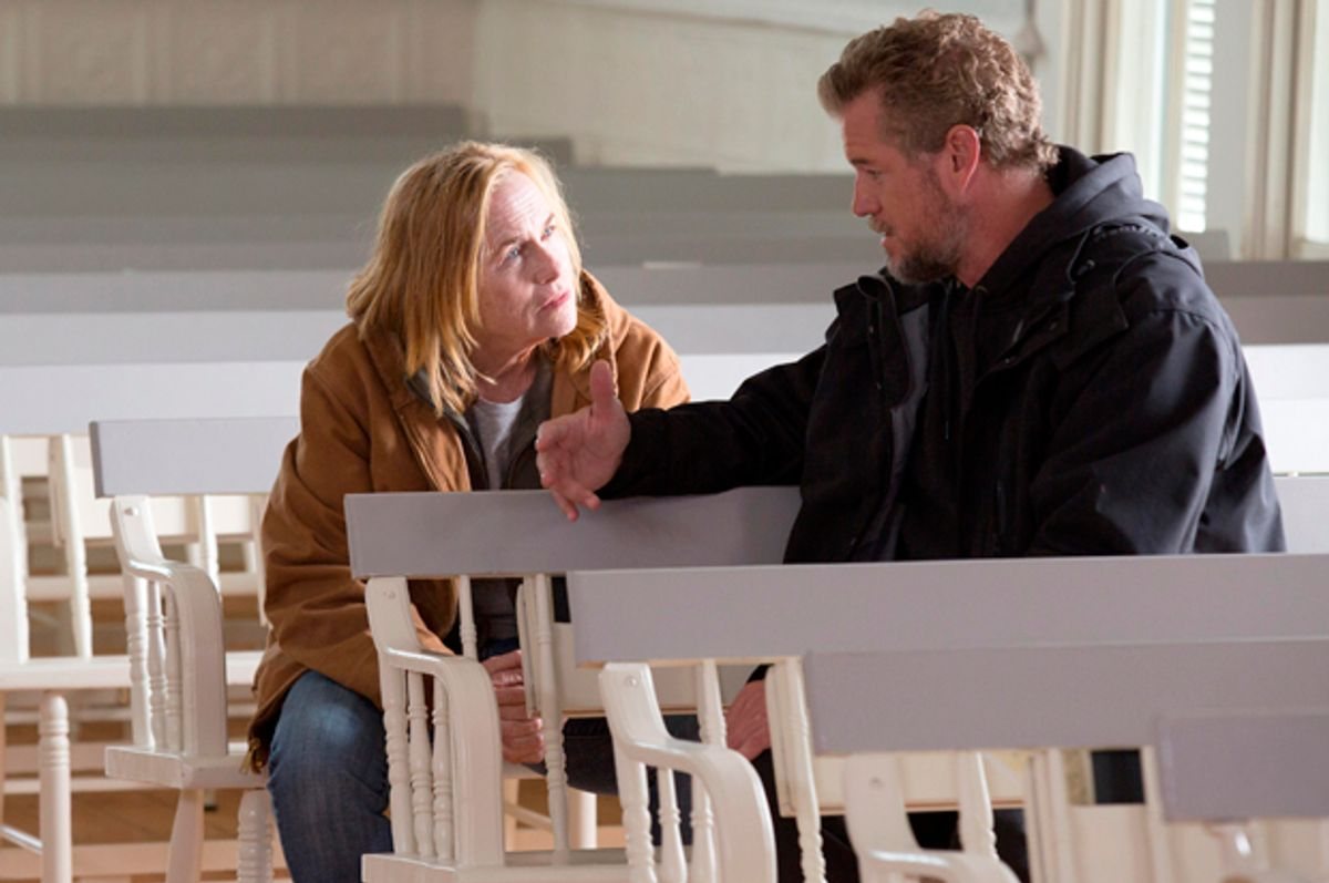 """Amy Madigan and Eric Dane in """"Grey Lady""""   (Beacon Pictures)"""
