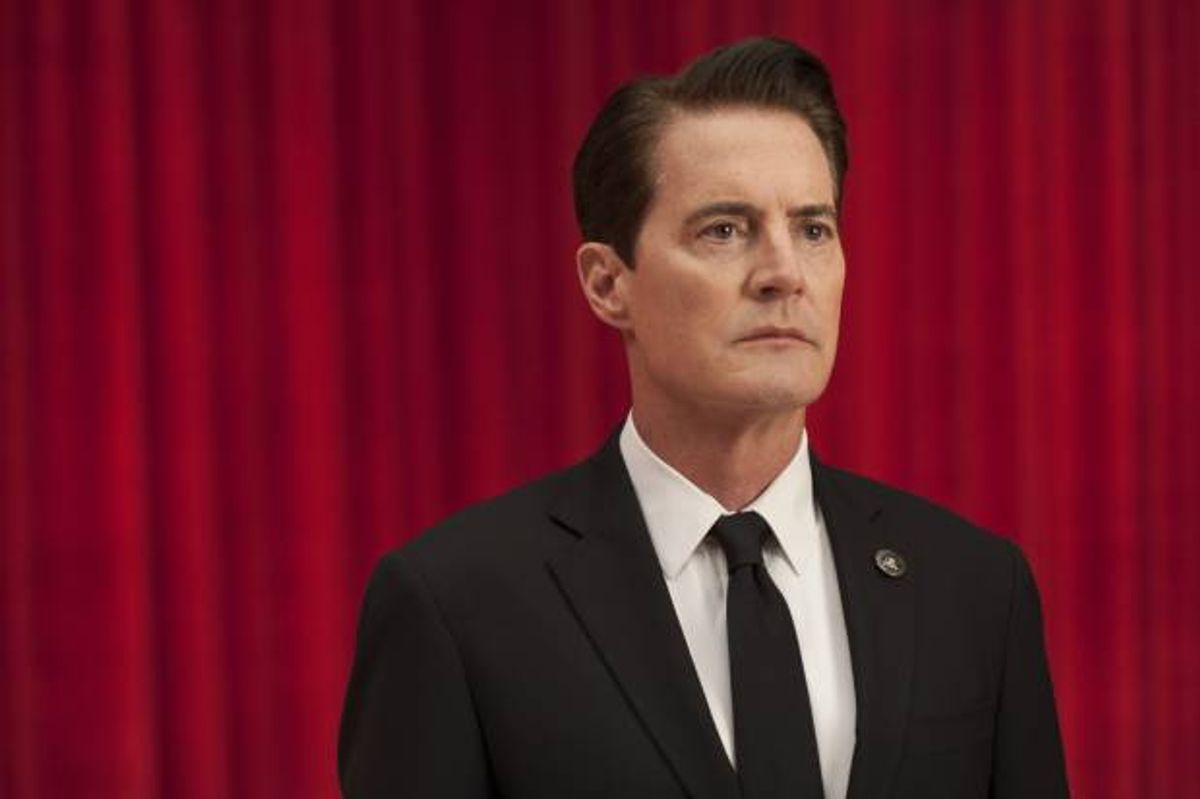 Kyle MacLachlan in a still from Twin Peaks. Photo: Suzanne Tenner/SHOWTIME (Suzanne Tenner)
