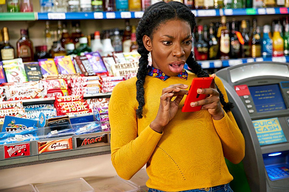 "Michaela Coel as Tracey in ""Chewing Gum"" (Netflix/Mark Johnson)"