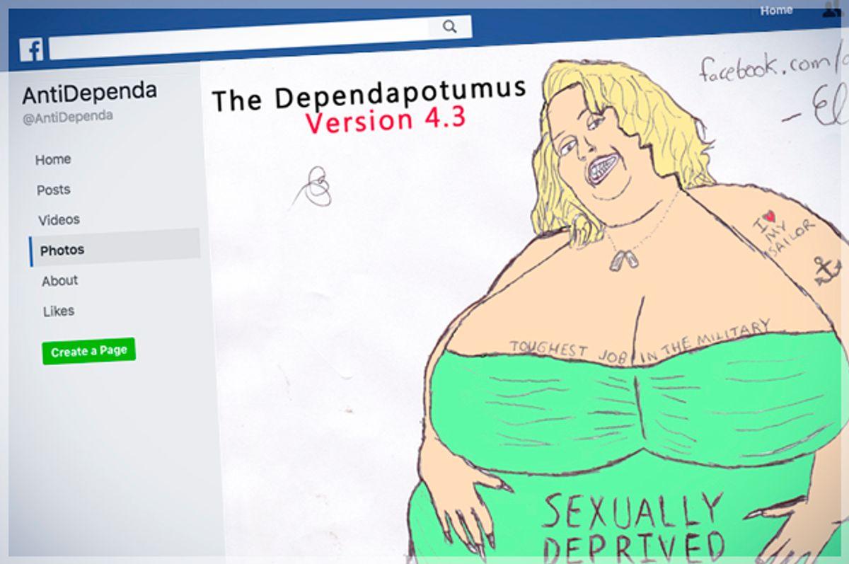 (Facebook/AntiDependa/Screen Montage by Salon)