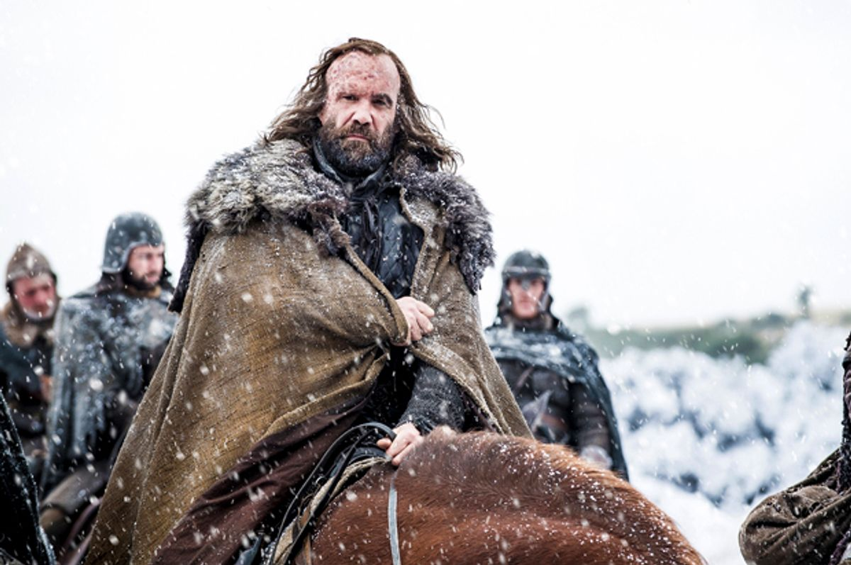 """Rory McCann in """"Game of Thrones"""" (Courtesy of HBO/Helen Sloan)"""