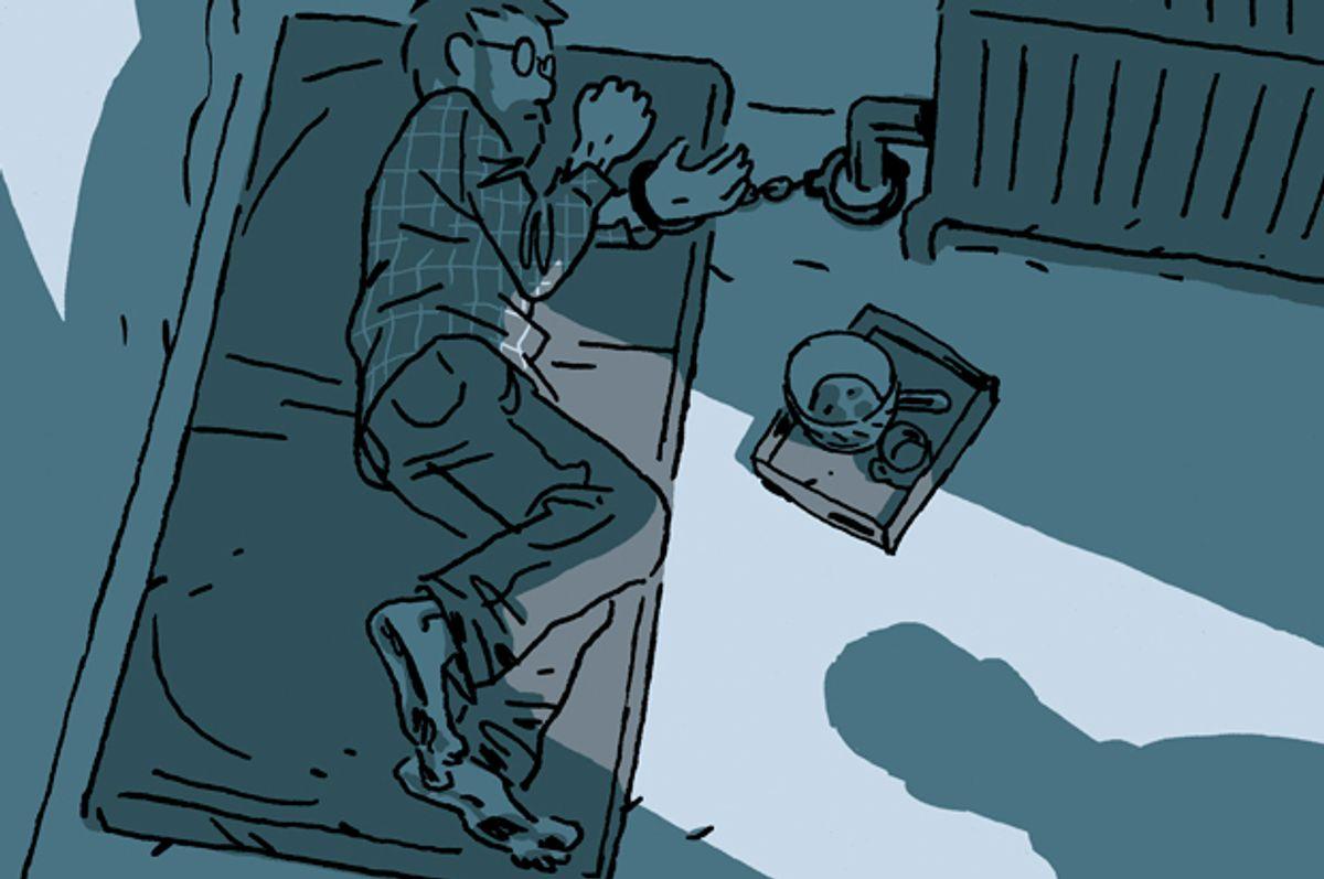 """Hostage"" by Guy Delisle (Drawn & Quarterly Publications)"