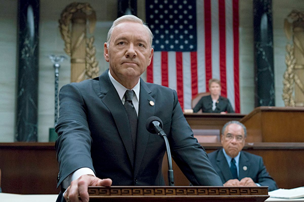 """Kevin Spacey as Frank Underwood in """"House Of Cards"""" (Netflix/David Giesbrecht)"""