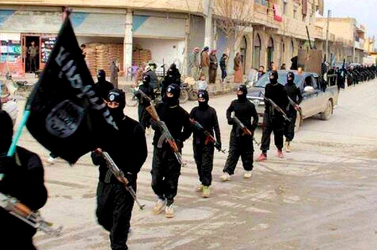 Islamic State (Militant Photo via AP)