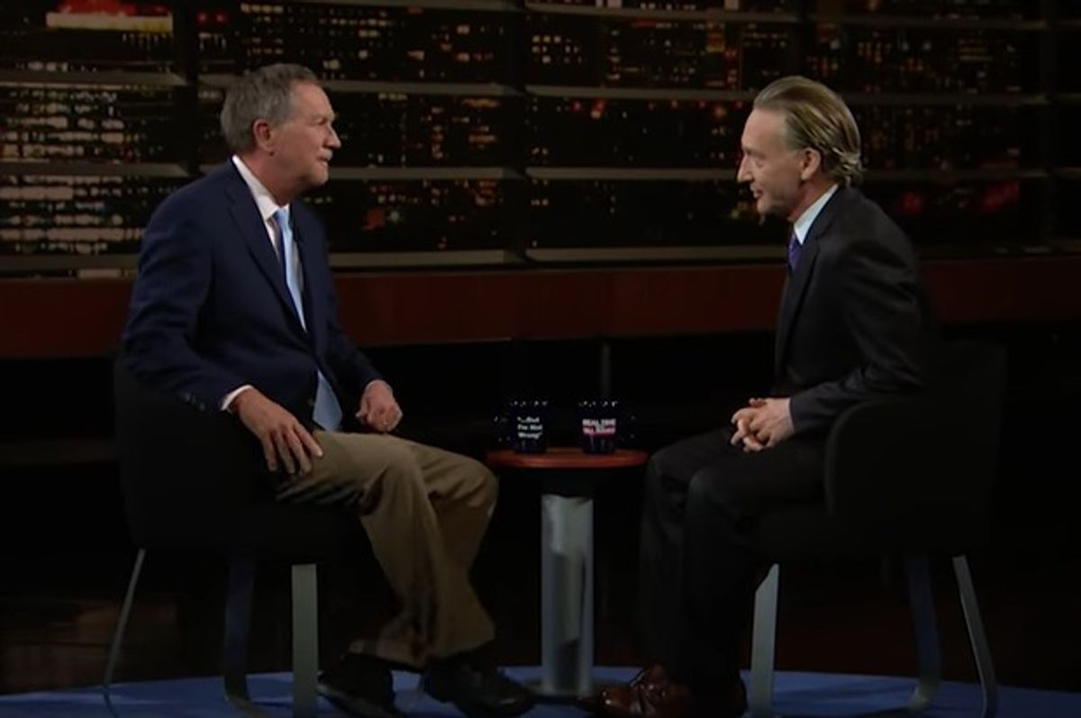 John Kasich on Real Time with Bill Maher 5.5.17