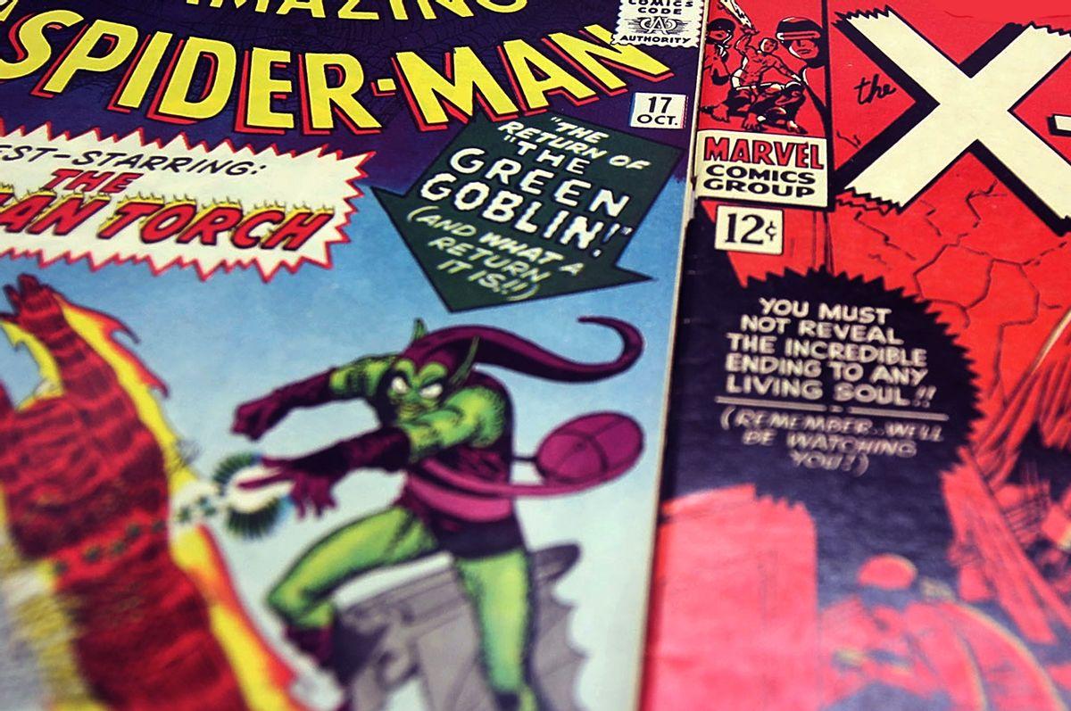 Spiderman, X-men (Getty Images/Mario Tama)
