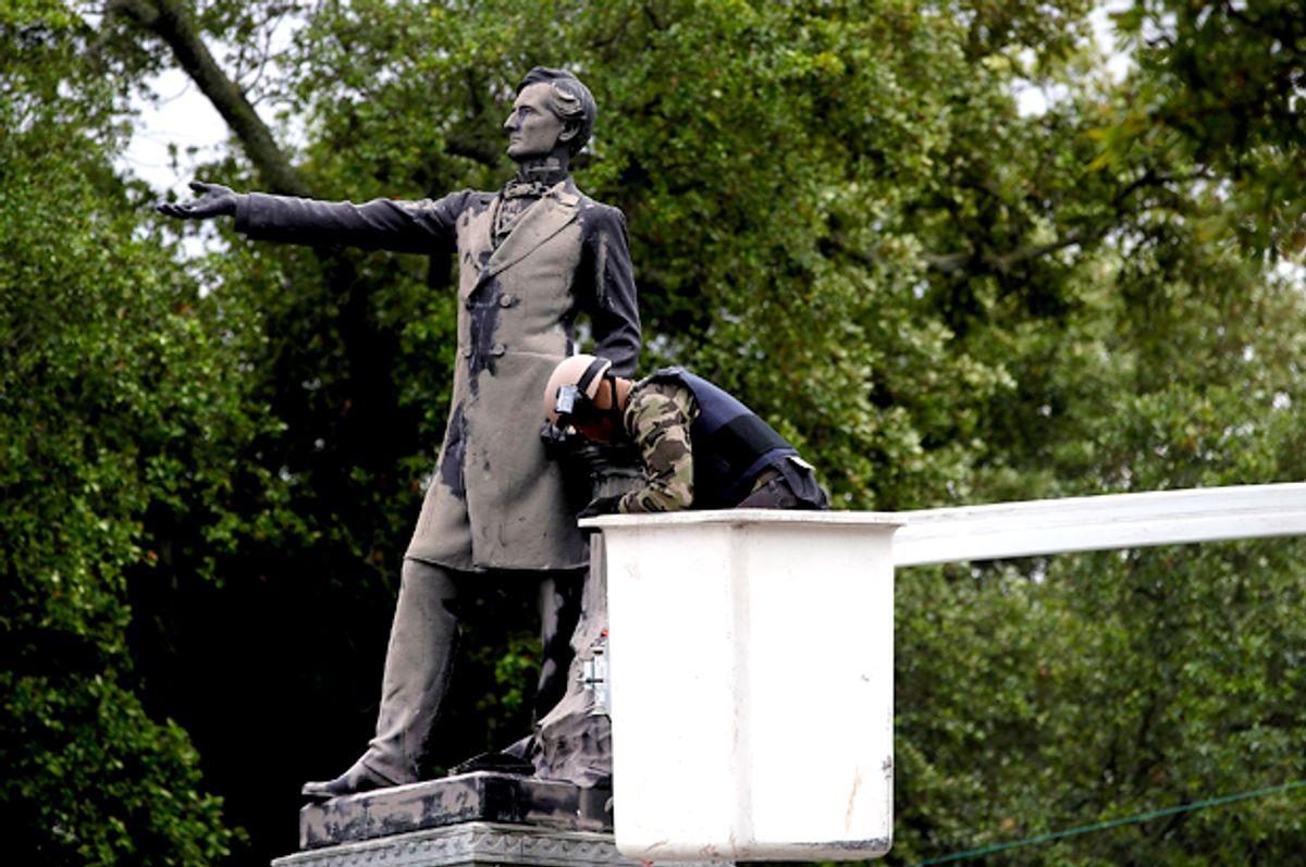 Jefferson Davis monument in New Orleans, Louisiana (Getty/Justin Sullivan)