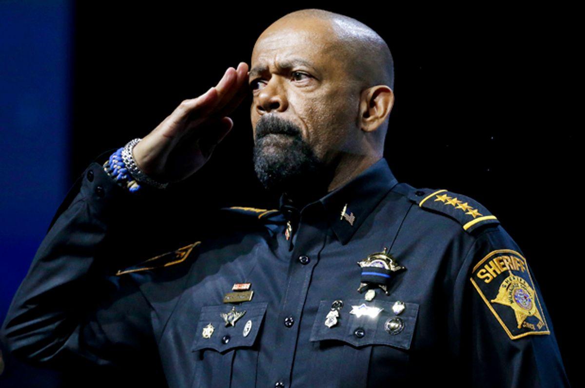 Sheriff David Clarke, Jr. (AP/Mark Humphrey)