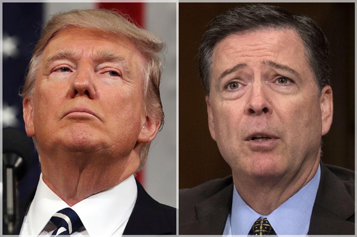 Donald Trump; James Comey   (AP/Jim Lo Scalzo/Jeff Malet, maletphoto.com)