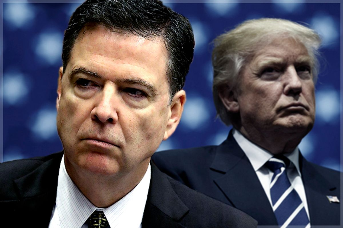 James Comey, Donald J. Trump (Getty Images/Drew Angerer/Mark Wilson)