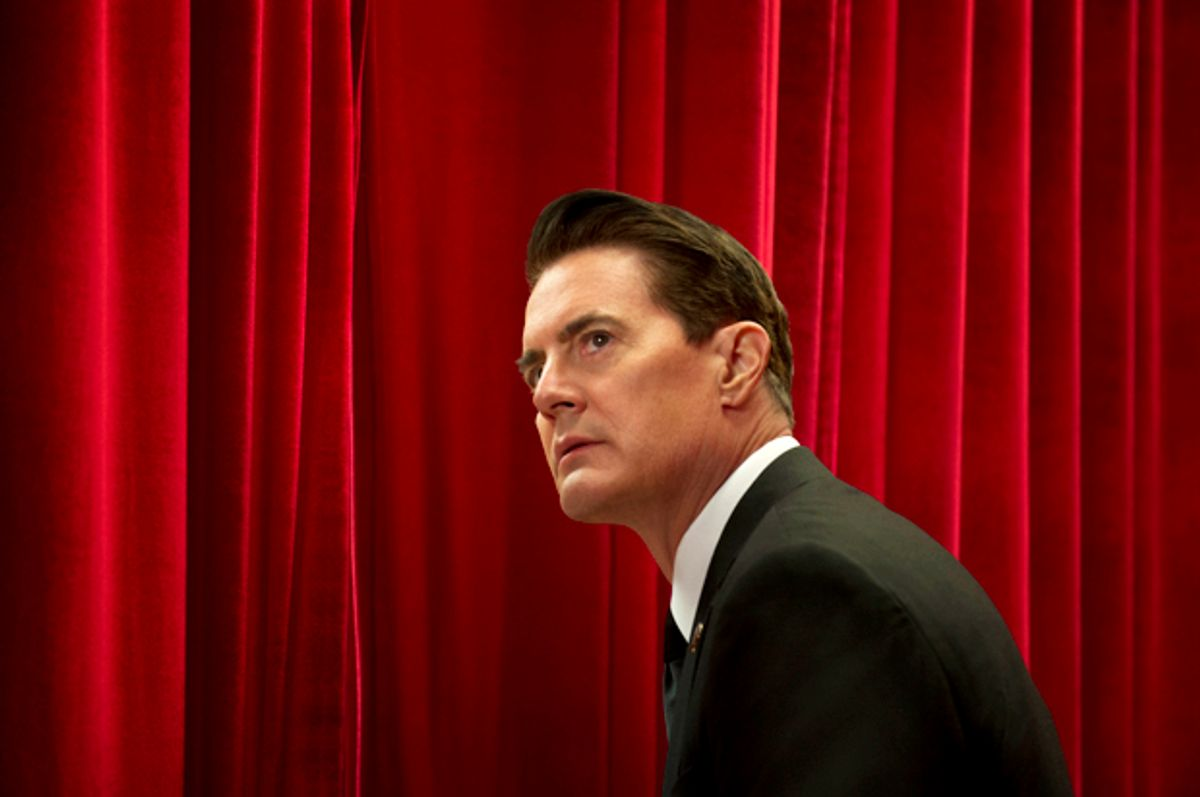 """Kyle MacLachlan as Dale Cooper in """"Twin Peaks"""" (Showtime/Suzanne Tenner)"""