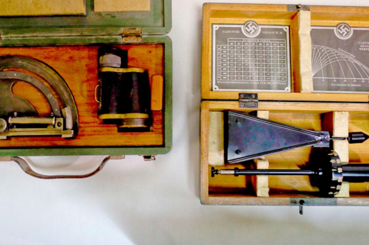 A Nazi medical device found in Argentina (AP/Natacha Pisarenko)
